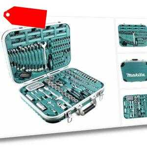 Makita P-90532 Werkzeugset 227-teilig im Koffer mit Bits und Steckschlüsseln
