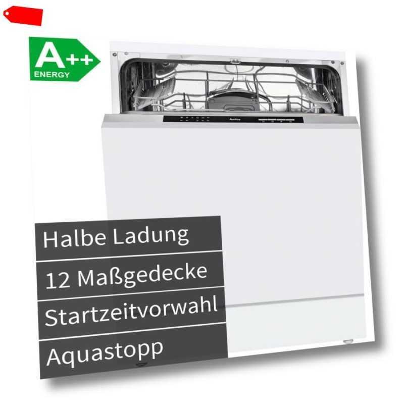 Amica 60 cm Einbau Geschirrspüler vollintegrierbar Spülmaschine...