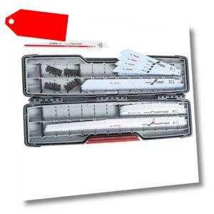 Bosch Säbelsägeblatt-Set ToughBox 17 tlg. Carbide Demolition Set Reciprosäge