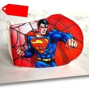 Maske Gesichtsmaske waschbar Wiederverwendbar Kinder Design Spiderman Superman