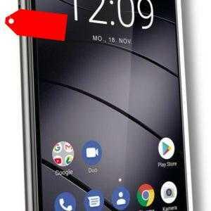 "Gigaset GS290 DualSim grau 64GB LTE Android Smartphone 6,3"" Display 13 Megapixel"