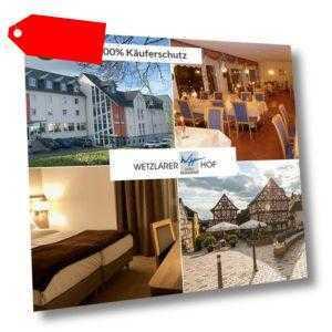 3 Tage Urlaub in Wetzlar im Lahntal im Hotel Wetzlarer Hof mit Halbpension
