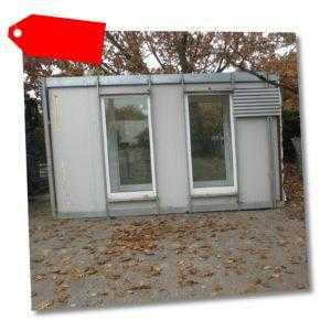 Wohncontainer Raucherkabine, Balkonunterbau, Geräteschuppen, Fahrrad-Garage Haus