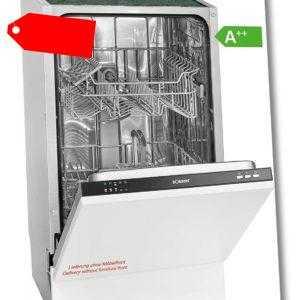 Bomann GSPE 891 Einbau-Geschirrspüler / EEK: A++ / 9MGD /...