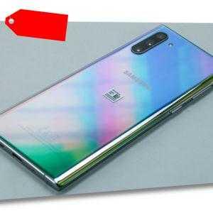 Samsung Galaxy Note 10 256GB Aura Glow Smartphone ohne Vertrag -...