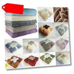 Best Microfaserdecke Flanell Decke Kuscheldecke Fleecedecke