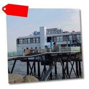 Nordsee Groningen Holland Hotel im Meer auf Stelzen Gutschein 2 bis 3 Nächte