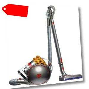 Dyson Cinetic Big Ball Multi Floor 2 Bo­dens­taub­sau­ger, Gelb/ Sil­ber