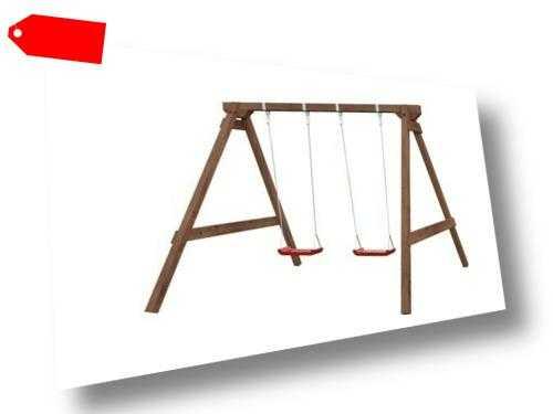 Palmako Kinderschaukel Jesper Kinderspielanlage Schaukel Holz Spiel 210x247 cm