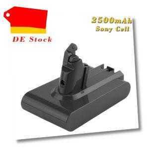 2500mAh 21.6V Akku für Dyson V6 DC58 DC59 DC61 DC62 Animal D72 DC74 965874-02