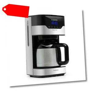 Kaffeemaschine Filterkaffee Kaffeeautomat 1,2 L Thermoskanne...