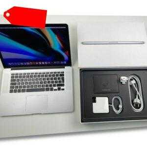 """Apple MacBook Pro Retina 15,4"""" i7 2,3 Ghz 256 GB SSD 8 GB Ram SILBER MC975D/A"""