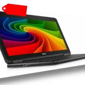 Dell Latitude E7240 Intel i7-5600U 16GB 256GB SSD BT 1366x768 WLAN Cam Windows10