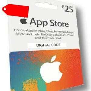 25€ Eur iTunes DE Gift Card - Geschenkkarte für App Store & iTunes [Deutschland]