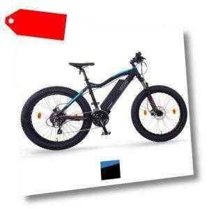 "NCM Aspen+ 26"" E-Bike Fatbike 48V 16Ah 768Wh, matt schwarz"