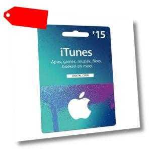 15€ Eur iTunes DE Gift Card - Geschenkkarte für App Store & iTunes [Deutschland]