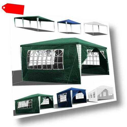 Pavillon Festzelt Partyzelt Wasserdicht Gartenzelt Hochzeit Vereinszelt Zelt