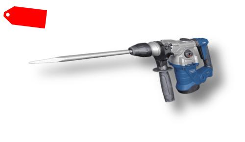 scheppach Bohrhammer Schlaghammer DH1300PLUS Meißelhammer 4in1 + Zubehör Koffer