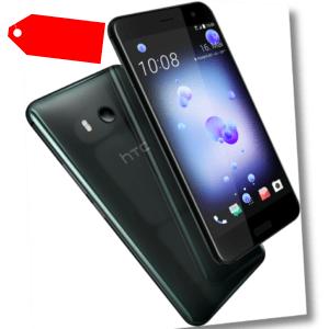 "HTC U11 64GB schwarz 64GB Dual Sim LTE Android Smartphone ohne Simlock 5,5"" 12MP"