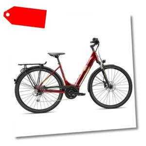 E Bike Damen 700c Stadtrad Elektrofahrrad 28 Zoll Breezer Powertrip Evo 1.5+ LS
