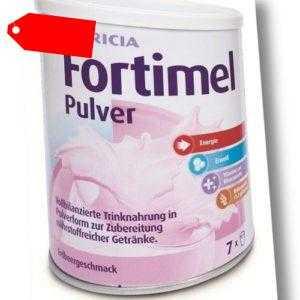 Fortimel Pulver Erdbeere 335g PZN 09628071 (34,75 EUR/kg)