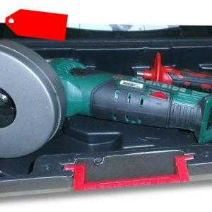 Parkside Akku Winkelschleifer 20V ohne Akku u. Ladegerät im Koffer PWSA 20-Li B3