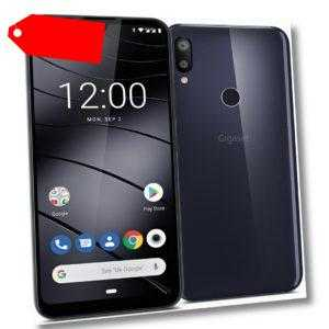 """Gigaset GS190 DualSim Night Shade Blue 16GB LTE Android Smartphone GPS 6,1"""" 13MP"""