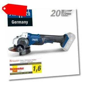 Akku-Winkelschleifer Trennschleifer Trennschneider scheppach CAG115 20V Set