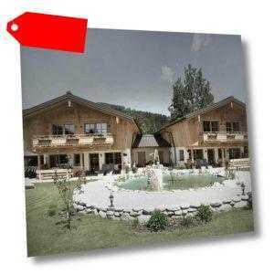 3-8 Tage Urlaub Luxus Chalet Rustika Wagrain Salzburger Land Wandern Skireise