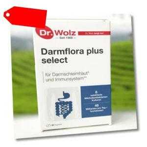 Darmflora plus select Dr. Wolz   48 Mrd. Bakterienkulturen/Tag (1037,50 EUR/kg)