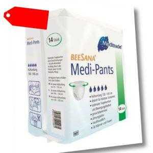 Inkontinenz Slip Medi Pants Windelhosen für mobile Personen VE 14 Stück / M - XL