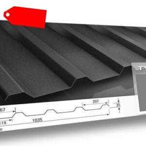 Trapezblech 35/207 Dach 0,75mm stark 25µm 15,49€/m²
