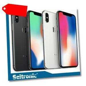 APPLE IPHONE X 256GB 64GB OHNE SIMLOCK KEIN VERTRAG SPACEGRAU SILBER SCHWARZ NEU