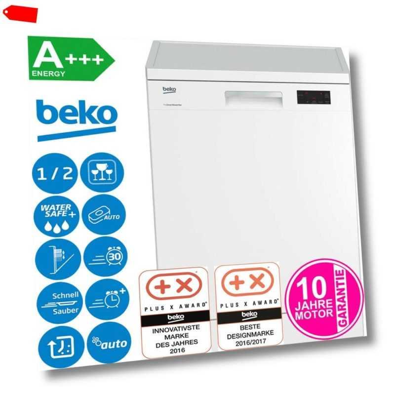 Beko A+++ Stand Geschirrspüler 60 cm Unterbaufähig Geschirr...