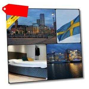 2 Tage für 2 Personen Moment Hotel Malmö 3 Sterne Kurzurlaub Schweden Urlaub WOW