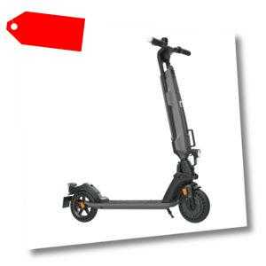 TREKSTOR EG 6078 Grau-Schwarz Elektroroller (Straßenzulassung) - NEU - OVP