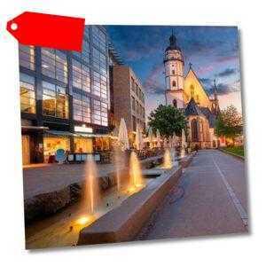 Leipzig Wellness Kurzreise 3-6 Tage 2P @4* H&S Hotel Belmondo Airport +Frühstück