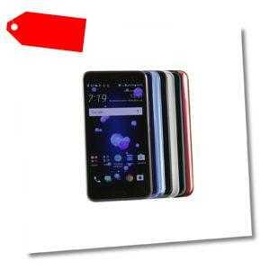 HTC U11 / 64GB / Schwarz / Silber / Blau / Rot / Weiß / Grün - Gebraucht -