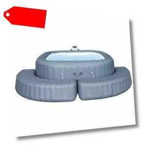 Lay-Z-Spa Whirlpool Umrandung Aufblasbar Poolumrandung Pool Verkelidung Spa