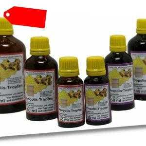 20 % / 40 % Propolis Tropfen Tinktur Lösung  20 ml 50 ml 100 ml direkt vom Imker