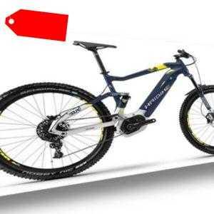 """Haibike SDURO FullSeven 7.0 27,5"""" RH44 E-Bike Bosch 500Wh blau/citron/s. m 18"""