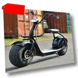 E-Scooter Coco Bike Fat, bis zu 40 Km/H schnell, 35km Reichweite, 60V 1000W