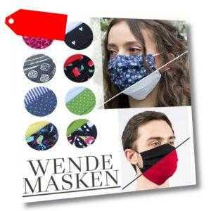 Günstige & hochwertige Alltagsmaske Behelfsmaske Baumwolle waschbar Mundschutz
