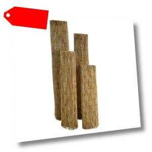 Schilfrohrmatte Sichtschutzmatte Sichtschutz Schilfmatte Windschutz Schilfrohr