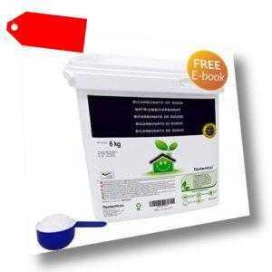 Natron NortemBio 6 Kg. Premium Natriumhydrogencarbonat in 6 kg (6 kg)