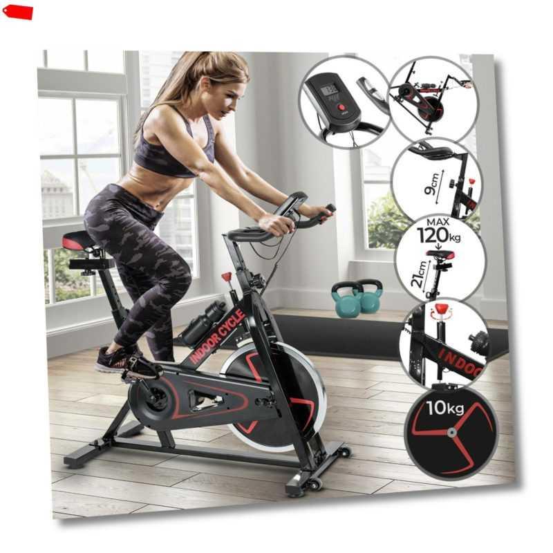 Heimtrainer Fahrrad Home Indoor Cycle Fitness-Bike Ergometer Cycling Trimmrad