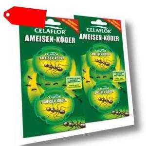 Celaflor Ameisen-Köder 4 Dosen Vorteilspack (2x2 Dosen) (13,98€/1Stk)
