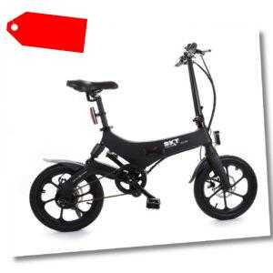 SXT Velox Elektro-Fahrrad E-Bike schwarz Reichweite ca. 60 km 18,9 kg 25 km/h