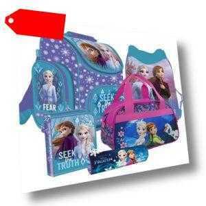 Frozen II Anna Elsa Schulranzen Tornister Ranzen Rucksack Set mit Sporttasche