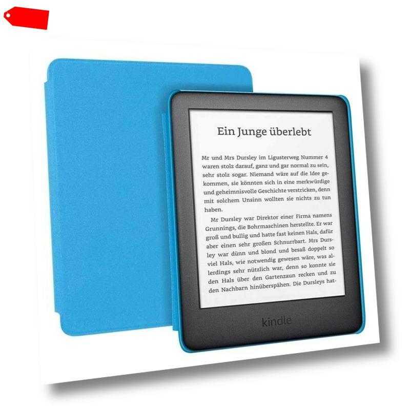 Amazon Kindle Kids Edition (10. Generation) blau 6 Zoll E-Book